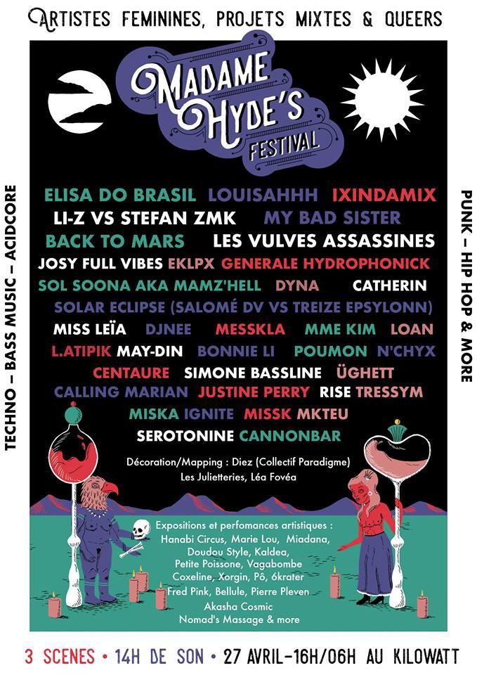 Madame Hyde festival