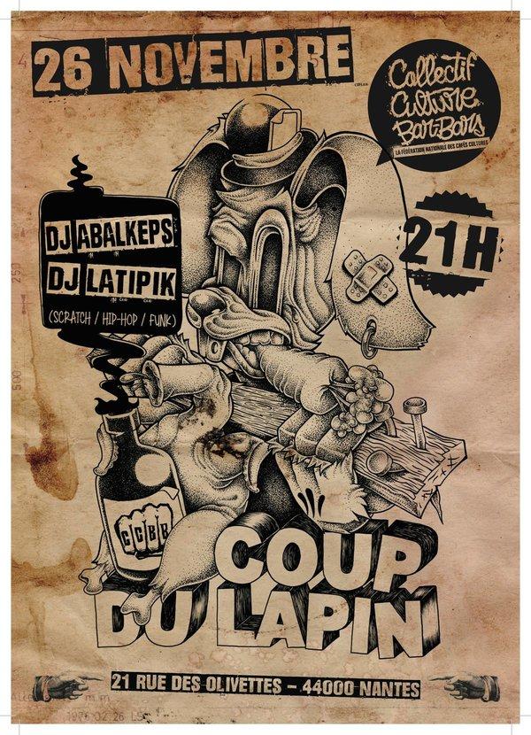 Abalkeps-L.Atipik-Le coup du Lapin-Nantes