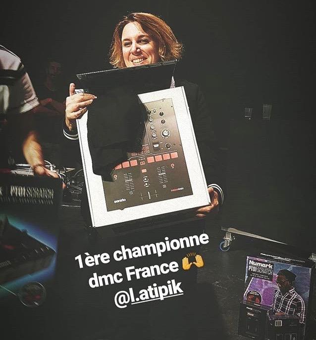 Championne de France DMC 2019